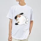 マツバラのもじゃまるやだやだ Dry T-shirts