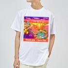 YASUHの水の都と夕焼け Dry T-Shirt