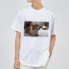 ちい むう ととろ Chi Mu Totoroの眠気を我慢するコーギー Dry T-Shirt