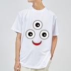 フォーヴァの三つ目小僧 ドライTシャツ