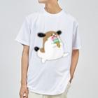 マツバラのもじゃまるとアイス Dry T-shirts