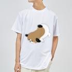 マツバラのもじゃまるうつぶせ Dry T-shirts
