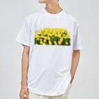 ニムニムのお部屋のきいろい ちうりっぷ Dry T-shirts