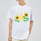 MOF-Island商店の夏だよ!ひまわりの妖精 Dry T-shirts