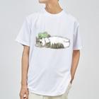 mofusandの寝落ち Dry T-Shirt