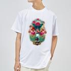 プシュケとラーガ【公式】のコラージュTee(黒ロゴ) Dry T-Shirt