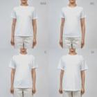 akane_art(茜音工房)のゆるチワワ(フラワーサークル) Dry T-Shirt