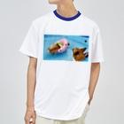ちい むう ととろ Chi Mu Totoroの浮かぶ事に気付き  泳がなくなった犬 Dry T-Shirt