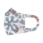 HAL-HIの花こちゃん(ブルレ) Full Graphic Mask