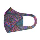 手描き🎨TAROのPEACE Full Graphic Mask