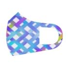 暇つぶしの色彩のにじ編み Full Graphic Mask