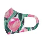 Kaede NAKAZAWAのチューリップ_pink Full Graphic Mask