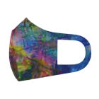 昼寝猫のパレットペインティング Full Graphic Mask