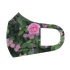 Callion's daydreamのピンクのお花 Full Graphic Mask
