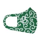 くいなの母の唐草模様(ハブ注意!) Full Graphic Mask