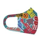 SHRIMPのおみせのステッカーボム Full Graphic Mask