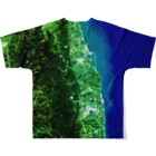 WEAR YOU AREの福島県 相馬市 Full graphic T-shirtsの背面