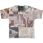 Kazuki GotandaのMuriel Full graphic T-shirtsの背面