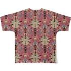TETETEN SHOPのBUGS & CRAFTS 001 Full graphic T-shirtsの背面