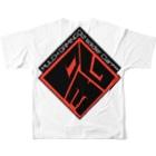[095]takuosoban@BFV強制名ばかり分隊長兼特攻隊隊長のOG3布教グッズ Full graphic T-shirtsの背面