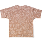 Tommmmyのペイズリー柄_暁 Full graphic T-shirtsの背面