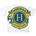 ハイエナズクラブのハイエナズクラブロゴ(2016) フルグラフィックTシャツ