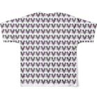 HUGオフォシャルショップのPandrew Many Faces フルグラフィックTシャツ