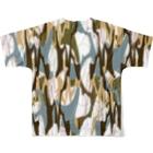 SHUNZO 1号店【DEEP&CORE】のSolomoon Full graphic T-shirtsの背面