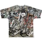 hondayumikaの駐輪場 Full graphic T-shirtsの背面