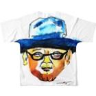 megumiillustrationのhongyoフルグラフィックTシャツ