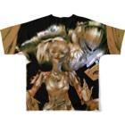 hassegawaのVampire Hunter BustersフルグラフィックTシャツ