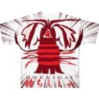 ICHITA_GAHAKUの特選本マグロFT裏 Full graphic T-shirts