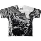 Tシャツ&雑貨の公園の景色 Full graphic T-shirts