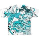嘘子のawa Full graphic T-shirts