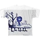 ミズホドリのこんいろ(仮名) Full graphic T-shirts