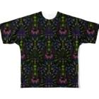 TETETEN SHOPのBUGS & CRAFTS 001 Full graphic T-shirts