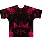 healing-honey(ヒーリングハニー)の- HA TSU KO I -「発恋」R Full graphic T-shirts
