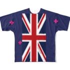 Retriever Laboratoryの英国犬素材A(犬服リメイク用) Full graphic T-shirts