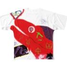 避役の焦燥 Full graphic T-shirts