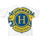 ハイエナズクラブのハイエナズクラブロゴ(2016)フルグラフィックTシャツ