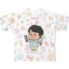じんじんのじんじんフルグラフィックTシャツ