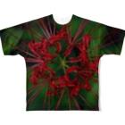 かごしまエモいぜの彼岸花2 Full graphic T-shirts