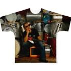 your mvのMr.Funky SambaフルグラフィックTシャツ