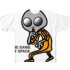 オリジナルデザインTシャツ SMOKIN'の宇宙遊戯 ポスターバージョン Full graphic T-shirts