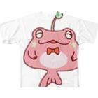 CHURAのカエルアンコウ Full graphic T-shirts