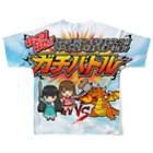 塚本オルガさんショップの【ガチバトル】フルグラフィックTシャツ Full graphic T-shirts