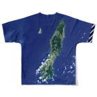 WEAR YOU AREの鹿児島県 熊毛郡 Full graphic T-shirtsの背面