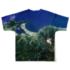 WEAR YOU AREの鳥取県 米子市 Full graphic T-shirtsの背面