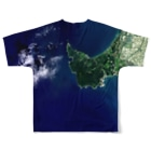 WEAR YOU AREの秋田県 男鹿市 Full graphic T-shirtsの背面