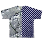 WEAR YOU AREの東京都 葛飾区 Full graphic T-shirtsの背面